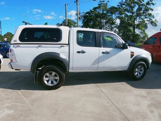 2011 Ford Ranger PK XL White 5 Speed Automatic Dual Cab