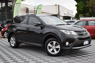 2013 Toyota RAV4 ZSA42R GXL 2WD Black 7 Speed Constant Variable Wagon.