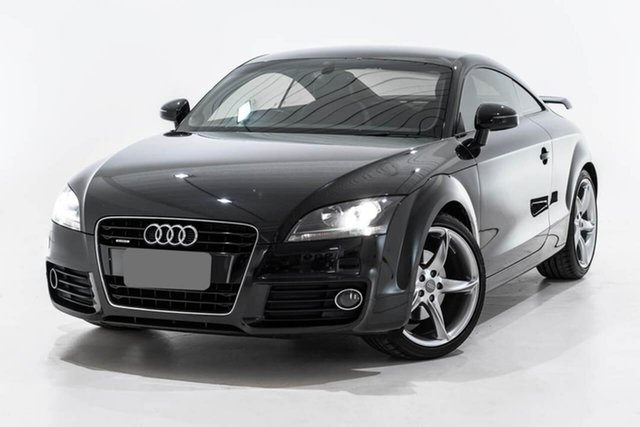 Used Audi TT 8J MY11 S Tronic Quattro, 2011 Audi TT 8J MY11 S Tronic Quattro Black 6 Speed Sports Automatic Dual Clutch Coupe