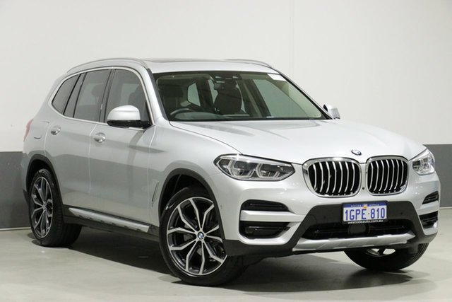 Used BMW X3 G01 MY18.5 xDrive30I, 2018 BMW X3 G01 MY18.5 xDrive30I Silver 8 Speed Automatic Wagon