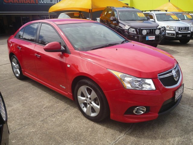 Used Holden Cruze JH Series II MY13 SRi-V, 2012 Holden Cruze JH Series II MY13 SRi-V Red 6 Speed Sports Automatic Sedan