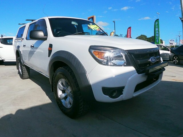 Used Ford Ranger PK XL, 2011 Ford Ranger PK XL White 5 Speed Automatic Dual Cab
