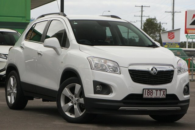 Used Holden Trax TJ MY14 LTZ, 2013 Holden Trax TJ MY14 LTZ White 6 Speed Automatic Wagon