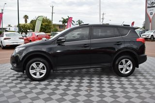 2013 Toyota RAV4 ZSA42R GXL 2WD Black 7 Speed Constant Variable Wagon