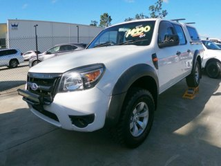 2011 Ford Ranger PK XL White 5 Speed Automatic Dual Cab.