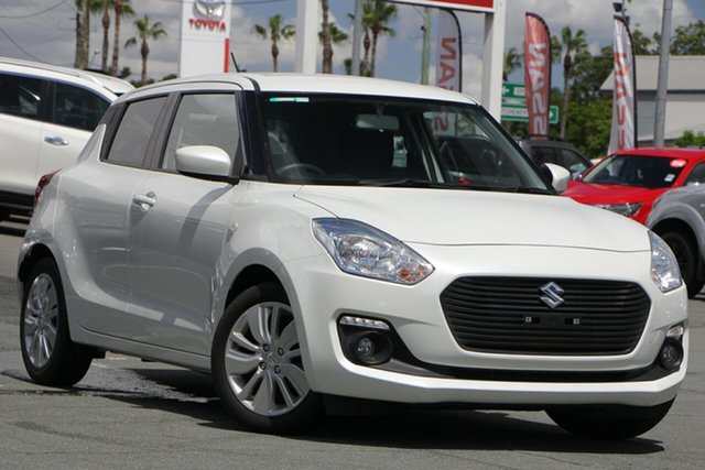 Used Suzuki Swift AZ GL Navigator, 2018 Suzuki Swift AZ GL Navigator White 1 Speed Constant Variable Hatchback