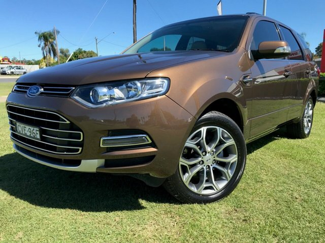 Used Ford Territory SZ MkII Titanium Seq Sport Shift, 2014 Ford Territory SZ MkII Titanium Seq Sport Shift Bronze 6 Speed Sports Automatic Wagon