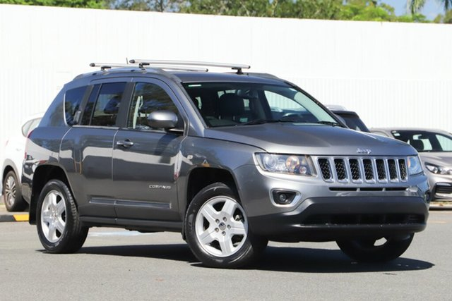 Used Jeep Compass MK MY14 North, 2014 Jeep Compass MK MY14 North Grey 6 Speed Sports Automatic Wagon
