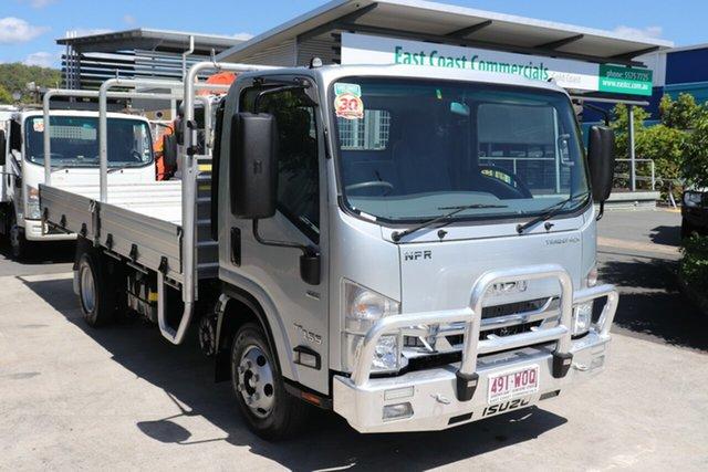 Used Isuzu NPR  , 2016 Isuzu NPR Silver Automatic Tray Truck