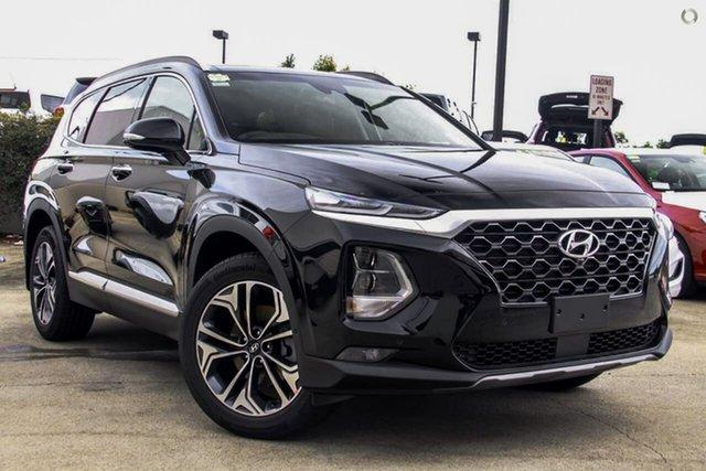 New Hyundai Santa Fe TM.2 MY20 Highlander, 2019 Hyundai Santa Fe TM.2 MY20 Highlander Phantom Black Pearl 8 Speed Sports Automatic Wagon