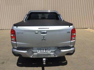 2017 Mitsubishi Triton MQ MY17 GLS (4x4) Stirling Silver 6 Speed Manual Dual Cab Utility