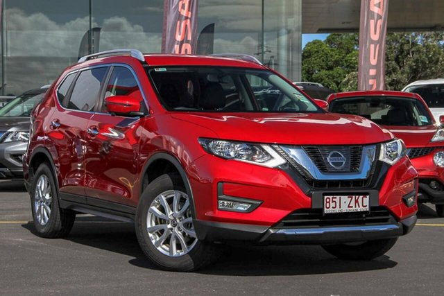 Demo Nissan X-Trail T32 Series II ST-L X-tronic 2WD, 2019 Nissan X-Trail T32 Series II ST-L X-tronic 2WD Ruby Red 7 Speed Constant Variable Wagon