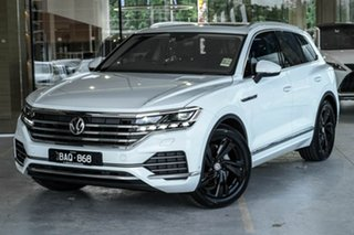 2019 Volkswagen Touareg CR MY20 190TDI Tiptronic 4MOTION Premium White 8 Speed Sports Automatic.