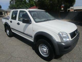 2005 Holden Rodeo RA MY05.5 Upgrade LX (4x4) 5 Speed Manual Crew Cab Pickup.