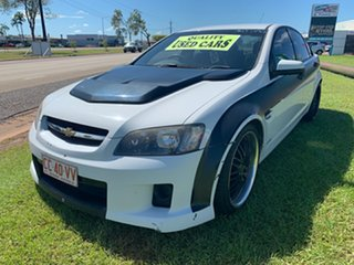 2010 Holden Commodore VE II Omega White 6 Speed Sports Automatic Sedan.