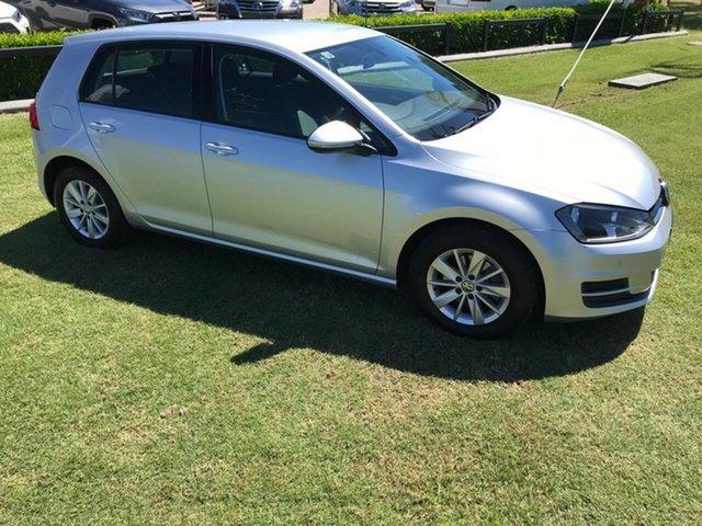 Used Volkswagen Golf VII MY16 92TSI DSG Trendline, 2015 Volkswagen Golf VII MY16 92TSI DSG Trendline Silver 7 Speed Sports Automatic Dual Clutch