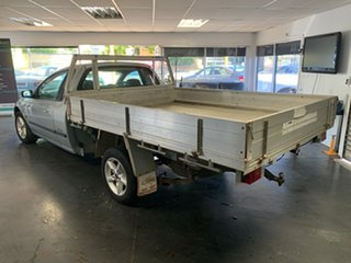 2001 Ford Falcon AUII XL Silver 4 Speed Automatic Cab Chassis.