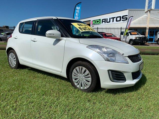 Used Suzuki Swift FZ MY15 GL Navigator, 2016 Suzuki Swift FZ MY15 GL Navigator White 5 Speed Manual Hatchback