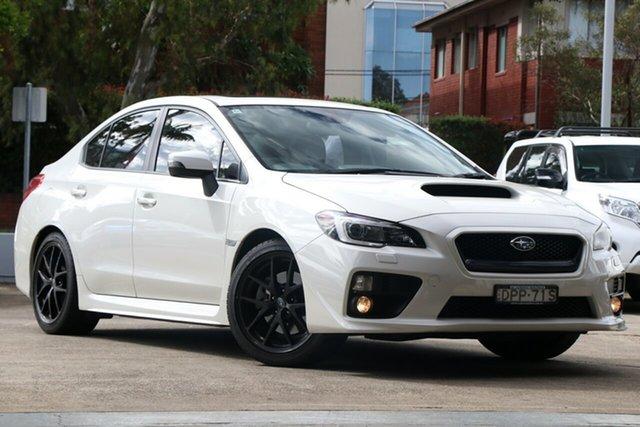 Used Subaru WRX V1 MY17 do Edition AWD, 2017 Subaru WRX V1 MY17 do Edition AWD White 6 Speed Manual Sedan