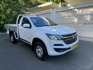2016 Holden Colorado RG MY16 LS 4x2 White 6 Speed Manual Cab Chassis.