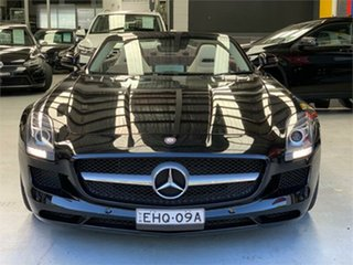 2014 Mercedes-Benz SLS-Class R197 SLS AMG Black Sports Automatic Dual Clutch Roadster.