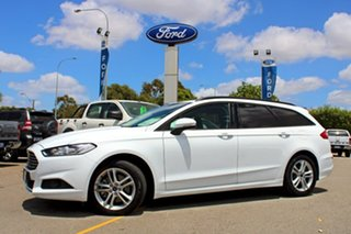 2018 Ford Mondeo MD 2018.25MY Ambiente White 6 Speed Automatic Wagon