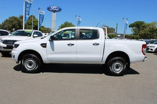 2018 Ford Ranger PX MkIII 2019.00MY XL Pick-up Double Cab 4x2 Hi-Rider White 6 Speed
