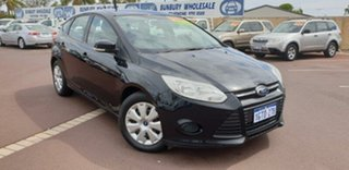 2013 Ford Focus LW MkII Ambiente PwrShift Black 6 Speed Sports Automatic Dual Clutch Hatchback.
