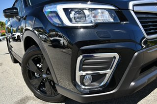 2019 Subaru Forester S5 MY20 2.5i Premium CVT AWD Crystal Black 7 Speed Constant Variable Wagon.