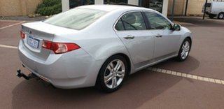 2012 Honda Accord Euro CU MY13 Luxury Silver 5 Speed Automatic Sedan