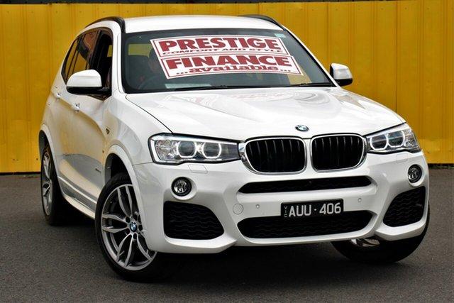 Used BMW X3 F25 LCI xDrive20d Steptronic, 2016 BMW X3 F25 LCI xDrive20d Steptronic White 8 Speed Automatic Wagon