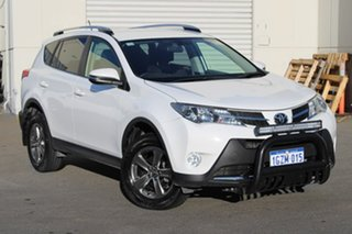 2015 Toyota RAV4 ZSA42R MY14 GXL 2WD White 7 Speed Constant Variable Wagon.