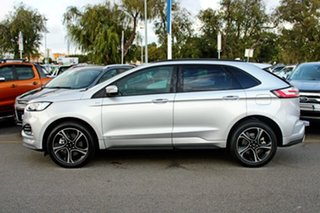 2018 Ford Endura CA 2019MY ST-Line SelectShift AWD Silver 8 Speed Sports Automatic Wagon