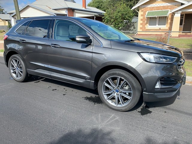 Used Ford Endura CA 2019MY Titanium SelectShift AWD, 2019 Ford Endura CA 2019MY Titanium SelectShift AWD Magnetic 8 Speed Sports Automatic Wagon