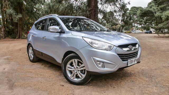 Used Hyundai ix35 LM MY12 Elite AWD, 2012 Hyundai ix35 LM MY12 Elite AWD Ice Blue 6 Speed Sports Automatic Wagon