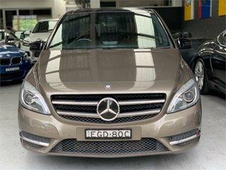 2012 Mercedes-Benz B-Class W246 B200 CDI BlueEFFICIENCY Monolith Grey Sports Automatic Dual Clutch.