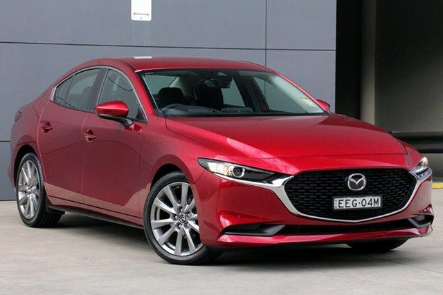 Demo Mazda 3 BP2S7A G20 SKYACTIV-Drive Evolve, 2019 Mazda 3 BP2S7A G20 SKYACTIV-Drive Evolve Soul Red Crystal 6 Speed Sports Automatic Sedan