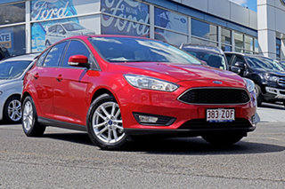 2018 Ford Focus LZ Trend Red 6 Speed Automatic Hatchback.