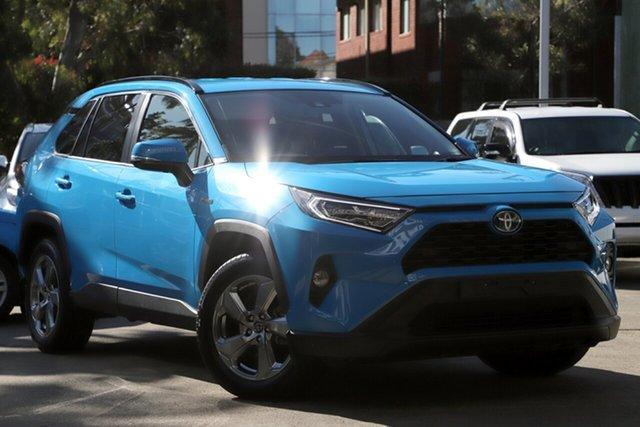 Used Toyota RAV4 Axah52R GXL 2WD Hybrid, 2019 Toyota RAV4 Axah52R GXL 2WD Hybrid Blue Continuous Variable Wagon