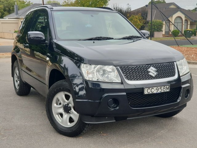 Used Suzuki Grand Vitara JB MY09 , 2009 Suzuki Grand Vitara JB MY09 Black/Grey 5 Speed Manual Hardtop