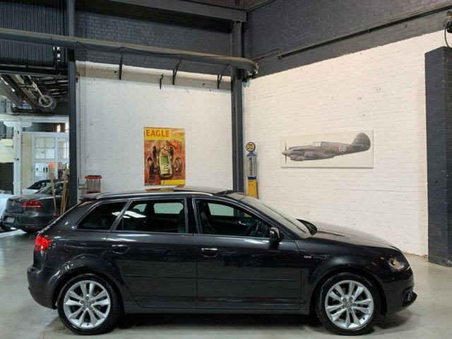 Used Audi A3 8P MY12 (N1) Ambition Sportback S Tronic, 2012 Audi A3 8P MY12 (N1) Ambition Sportback S Tronic Grey 7 Speed Sports Automatic Dual Clutch