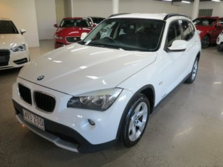 2012 BMW X1 E84 MY0312 sDrive18i Steptronic White 6 Speed Sports Automatic Wagon.
