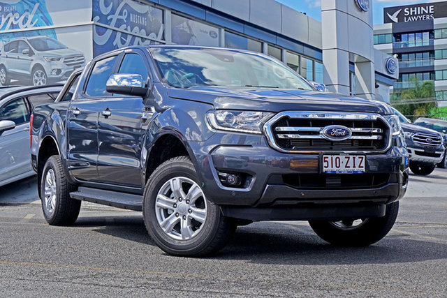 Used Ford Ranger PX MkIII 2019.75MY XLT Pick-up Double Cab, 2019 Ford Ranger PX MkIII 2019.75MY XLT Pick-up Double Cab Grey 6 Speed Sports Automatic Utility