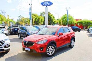 2014 Mazda CX-5 KE1031 MY14 Maxx SKYACTIV-Drive AWD Sport Red 6 Speed Sports Automatic Wagon.