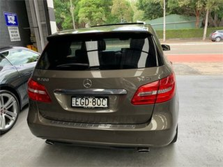 2012 Mercedes-Benz B-Class W246 B200 CDI BlueEFFICIENCY Monolith Grey Sports Automatic Dual Clutch