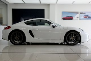 2014 Porsche Cayman 981 PDK White 7 Speed Sports Automatic Dual Clutch Coupe