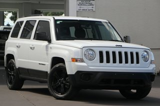 2014 Jeep Patriot MK MY14 Blackhawk CVT Auto Stick 4x2 White 6 Speed Constant Variable Wagon.