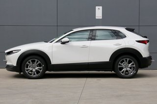 2020 Mazda CX-30 DM2WLA G25 SKYACTIV-Drive Astina Snowflake White 6 Speed Sports Automatic Wagon