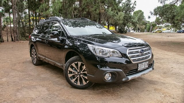 Used Subaru Outback B6A MY15 2.5i CVT AWD, 2015 Subaru Outback B6A MY15 2.5i CVT AWD Black 6 Speed Constant Variable Wagon