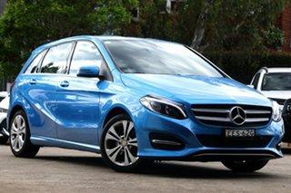 2015 Mercedes-Benz B200 246 MY15 Blue 7 Speed Auto Direct Shift Hatchback.